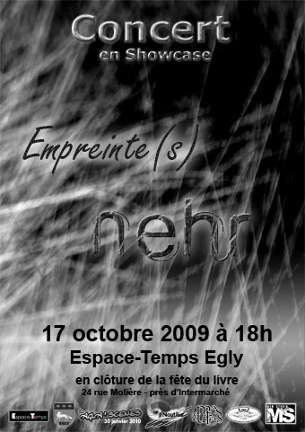 Empreinte(s) en showcase avec Nehr @ Egly