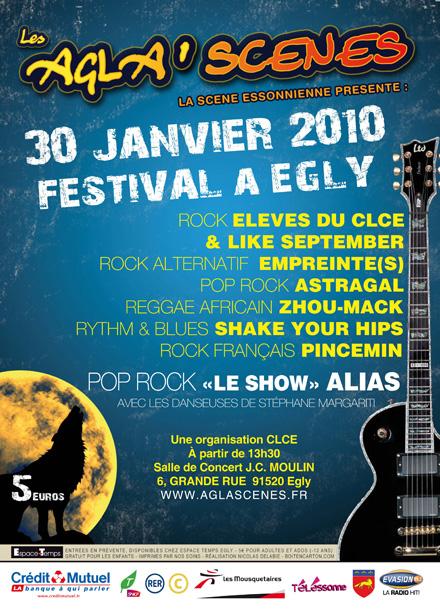 Empreinte(s) en concert au festival des Agla'Scènes @ Egly