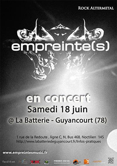 Empreinte(s) @ Guyancourt